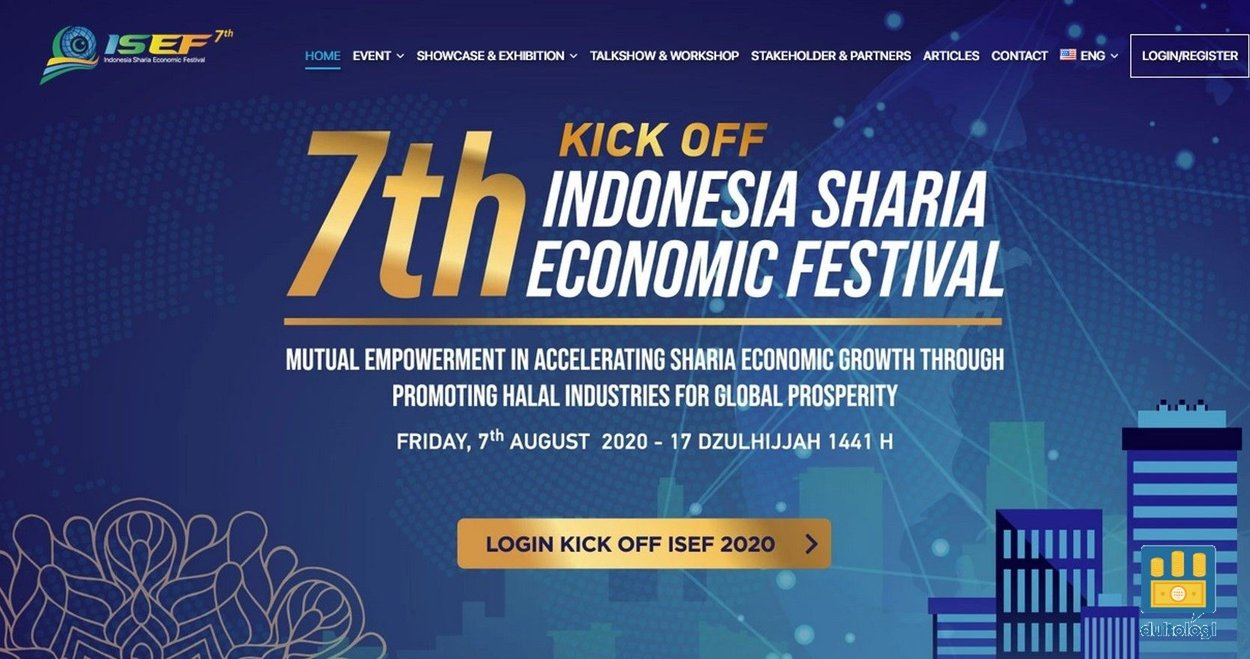 Indonesia Sharia Economic Festival (ISEF) 2020.