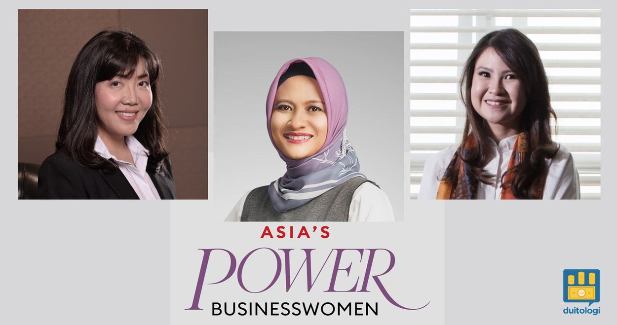 3 Perempuan Indonesia masuk daftar Forbes Asia's Power Businesswomen.